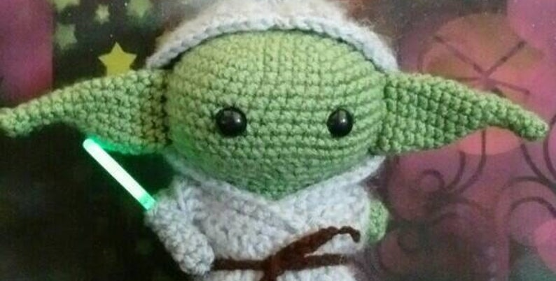 Adorable Baby Yoda Inspired Plush Doll