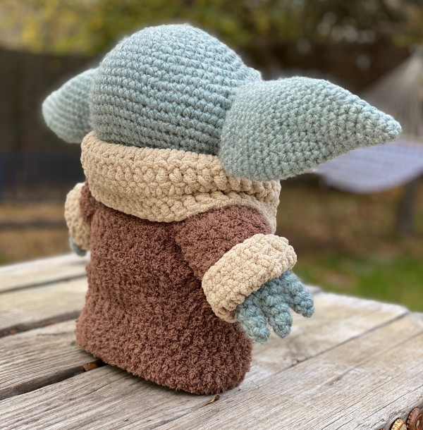 Woman Shares An Adorable Child Baby Amigurumi She Crocheted And ... | 610x600