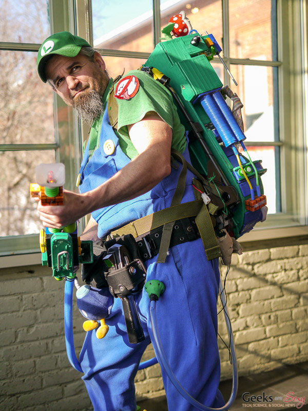 Luigi Ghostbuster