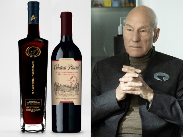 Chateau Picard Wines are The Ultimate Collectibles For Star Trek Fans