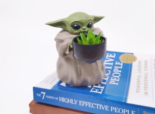 Baby Yoda Pot Planter