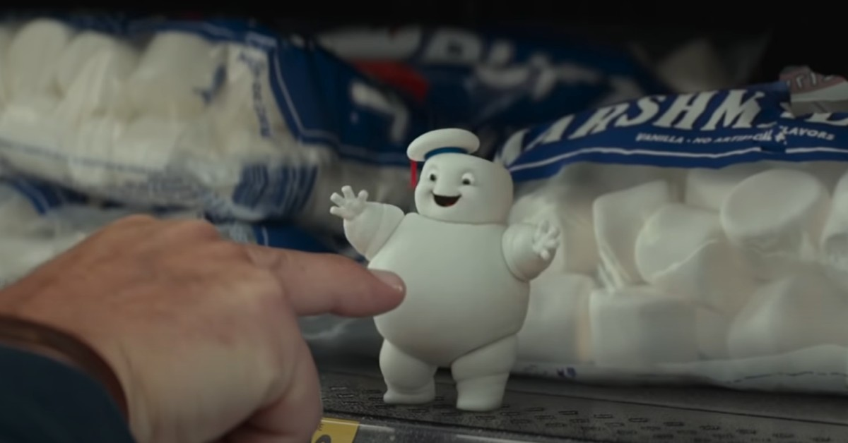 GHOSTBUSTERS: AFTERLIFE Reveals Mini Stay Puft Marshmallow Men [Video]