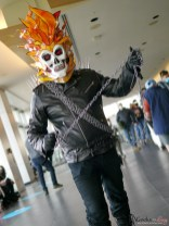 Ghost Rider - Photo by Geeks are Sexy at Quebec City ComicCon 2021