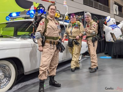 Ghostbusters - Photo by Geeks are Sexy at Quebec City ComicCon 2021
