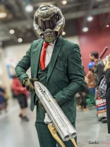 Dapper Master Chief - Photo by Geeks are Sexy at Quebec City ComicCon 2021