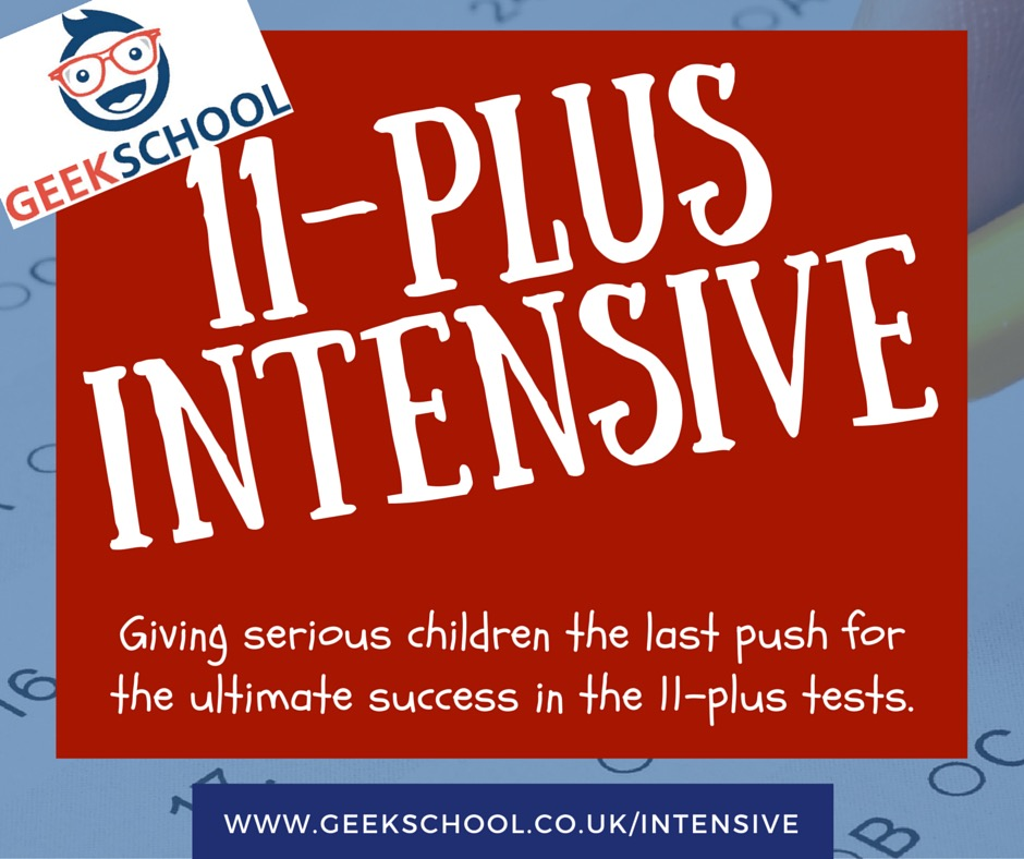 11 Plus Intensive Course