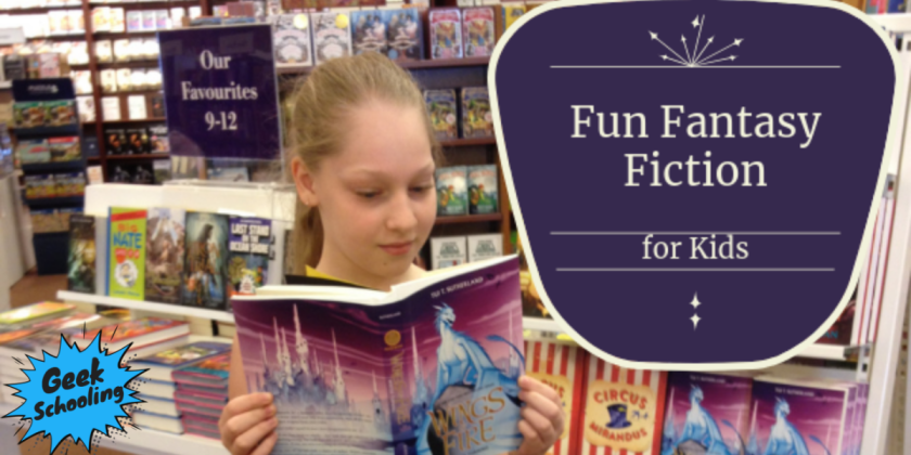 fun fantasy fiction for kids