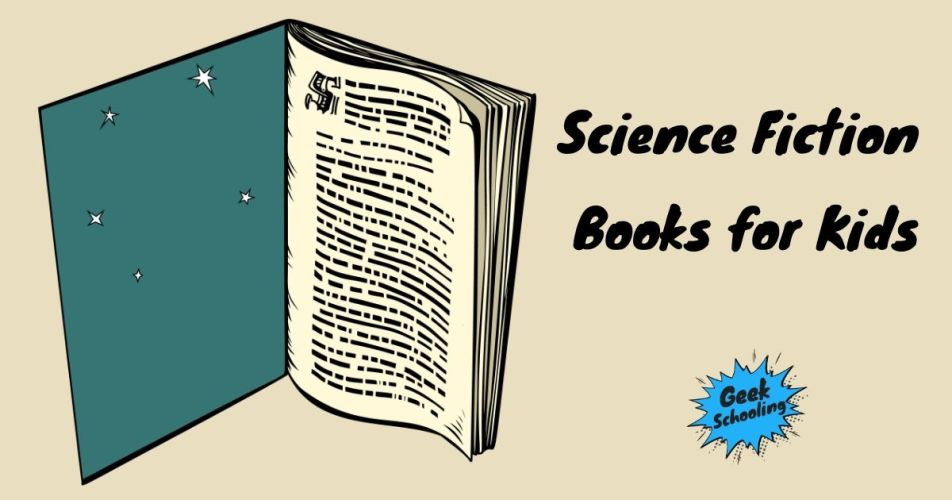 science fiction books for kids - book with stars