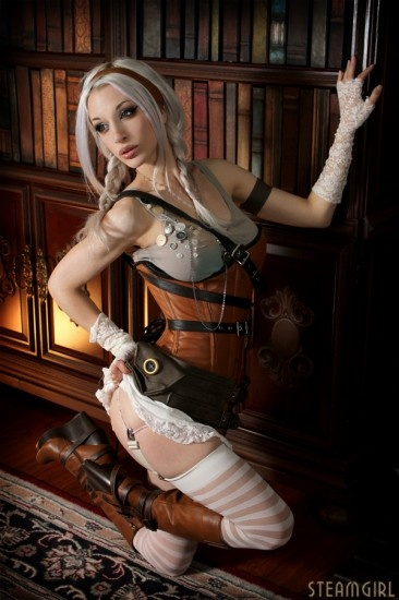 steampunk Kate lambert