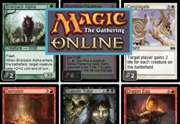 Magic the Gathering Online Card Library