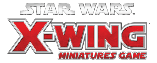 Star Wars X-Wing Miniatures game title logo