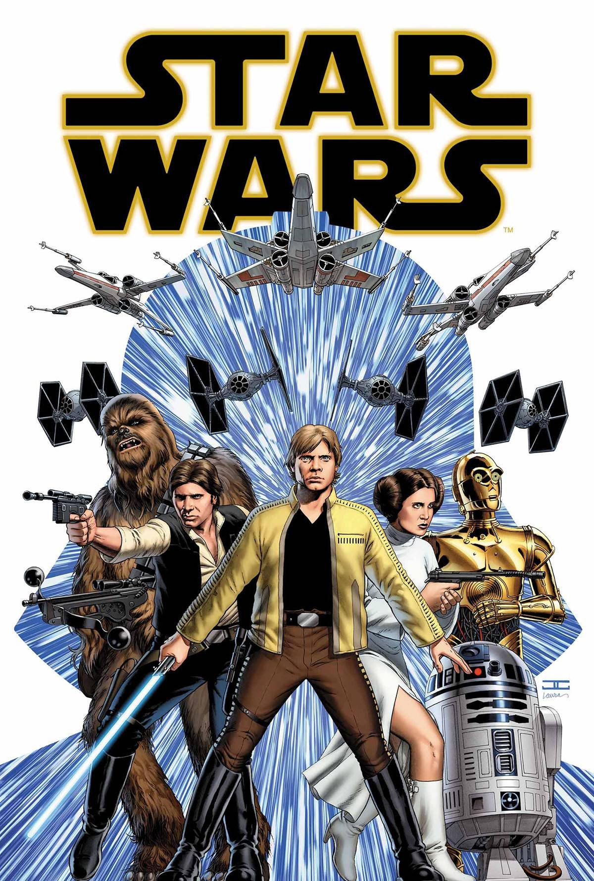 Comic - Star Wars (2015) 1 - Cover