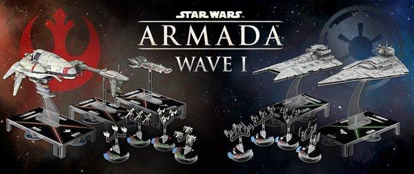 Star Wars Armada Wave 1 Header