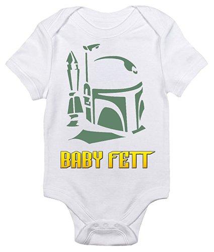 Baby Fett Star Wars Onesie