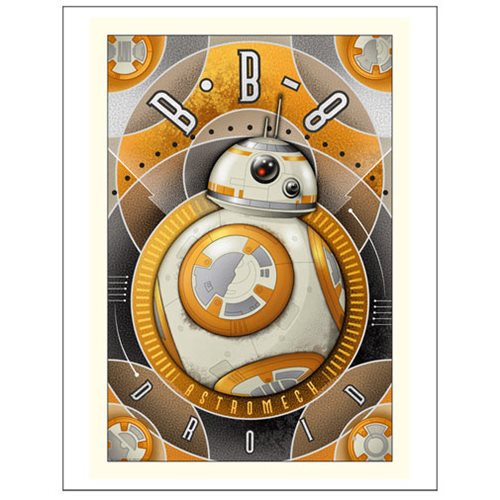 Star Wars Wall Art - Episode 7 BB-8 Astromech