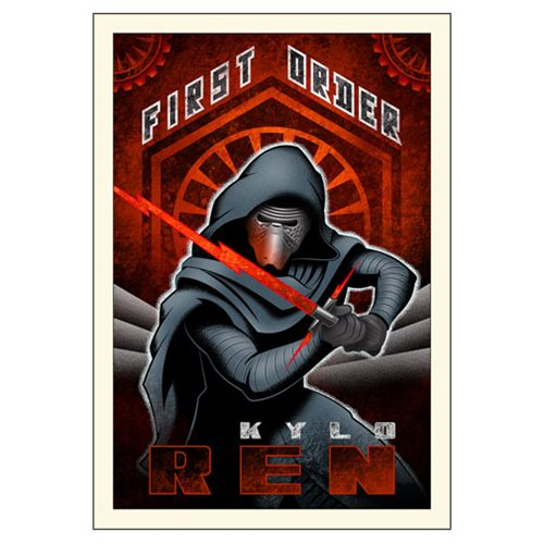 Star Wars The Force Awakens Wall Art - First Order Kylo Ren