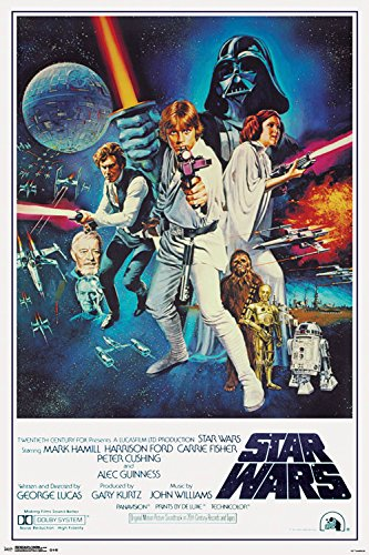 Star Wars Movie Poster 27x40 A New Hope