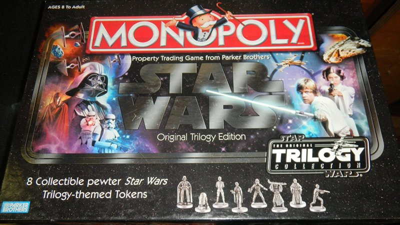 Star Wars Original Trilogy Edition Monopoly