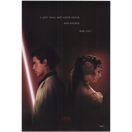Star Wars Movie Poster Teaser from Episode 2: Attack of the Clones