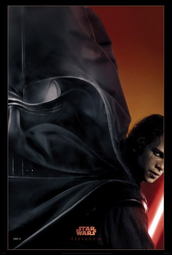 Advance Star Wars Movie Poster for Episode III: Attack of the Clones