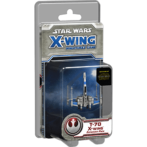 swx37 Star Wars Miniatures T-70 X-wing Expansion Pack
