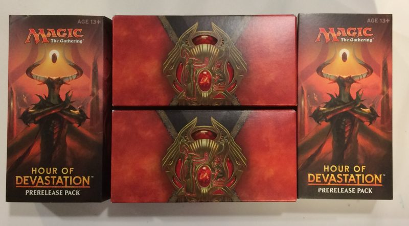 Hour of Devastation Expansion for Magic the Gathering Prerelease Packs