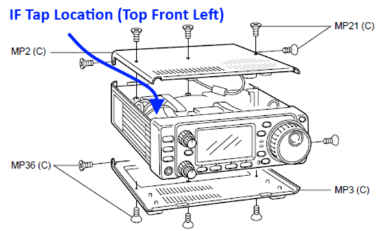 IC-706Mk2G_IF_Tap_Location-Radio
