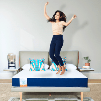 Flo Ergo Gel Memory Foam + Proprietary Responsive Foam Mattress