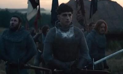 Timothée Chalamet incarne pour Netflix le roi d'Angleterre Henry V, vainqueur de la bataille d'Azincourt en 1415. / © NETFLIX