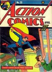 Action Comics 23 - April 1940