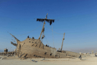 A ship in the desert - only at Burning Man
