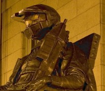 MIT dressed the iconic Harvard statue in Doom gear