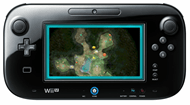 Wii U GamePad with integrated display