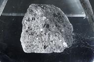 A genuine moon rock