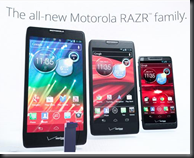 The new Droid RAZR HD family of devices from Motorola