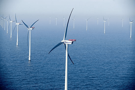 Wind turbines in oceans could solve space issues