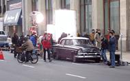 Filming set