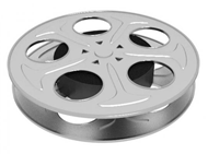 Movie reel film cannister