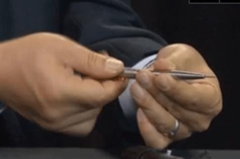 Assassin pen fired a poison bullet