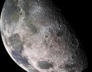 Moon closeup