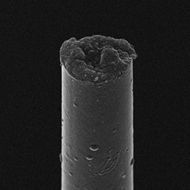 Carbon thread only 7 nanometers wide