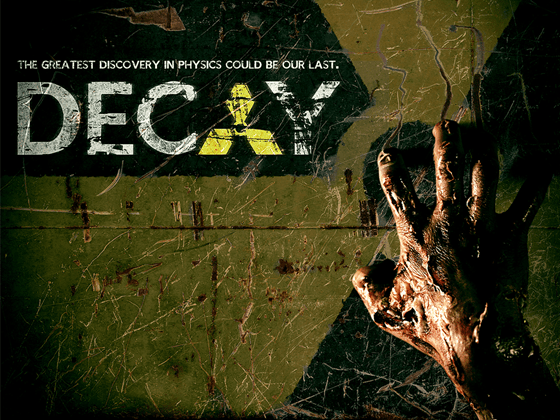 Decay movie shot at CERN