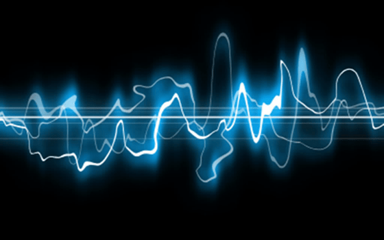 Sound waves in music