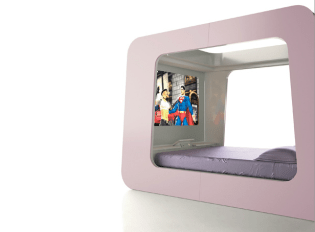 HiTech gaming bed for girls
