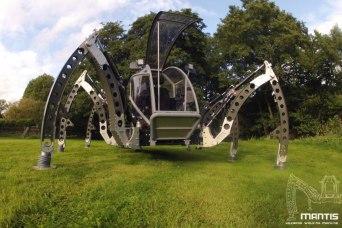 Mantis hexapod robotic machine