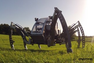 Mantis hexapod robotic machine