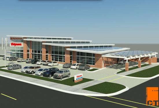 Walgreen's first zero-energy store