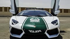 Dubai's Lamborghini Aventador police car