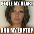 Attractive Convict - Stole my heart - and my laptop