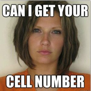 Attractive Convict - Can I get your - cell number